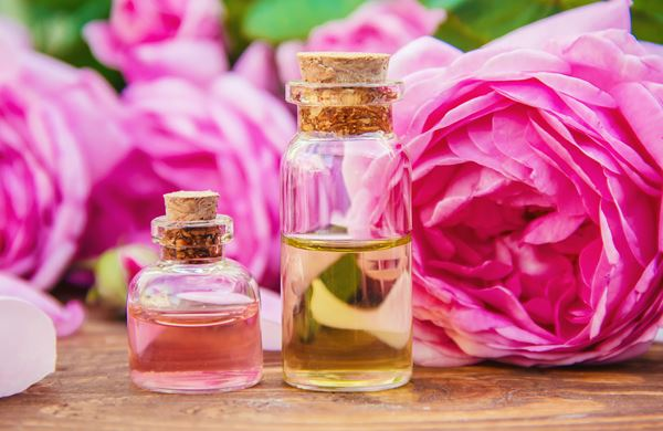 Massage: Paar Massage Rosenöl