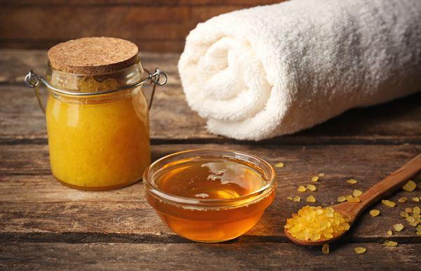Massage: Paar Massage Honig
