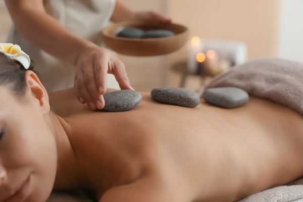 Massage: Hot-Stone Massage